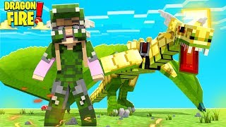 MAKING DRAGON ARMOUR FOR MY DRAGON (R.I.P Dorothy) | Minecraft Dragon Fire