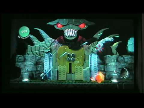 Contra Remade In Little Big Planet