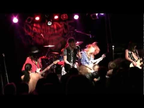 FrenchKiss - Steady Chicks Live ! @ Glam 'Em All Fest - Verdun 2012 03 24 - HQ
