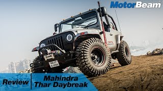 7. Mahindra Thar Daybreak Review - Craziest Jeep In India | MotorBeam