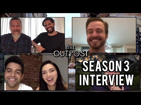 The Outpost cast talks Season 3, swordplay, big battles & Gellato
