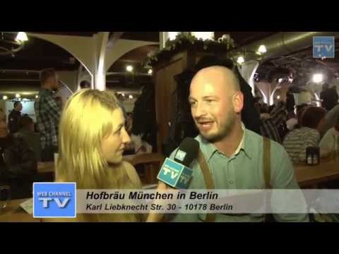 WEB CHANNEL TV Entertainment - Hofbräuhaus München Biergarten Berlin Las Vegas