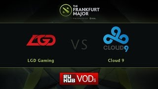 LGD.cn vs Cloud9, game 1