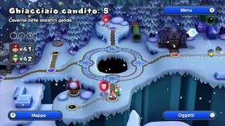 [ITA] Let's Play: New Super Mario Bros. U - Mondo 3: Ghiacciaio Candito [2/2]