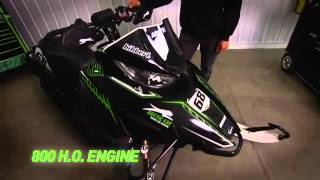 5. Arctic Cat - Tucker Hibbert Reveals a New Sled!