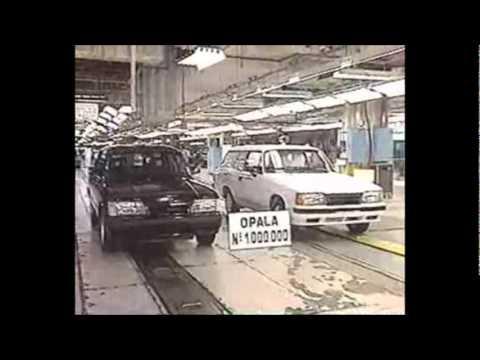 Vídeo Institucional da Fabricação do Último Opala na Fábrica da GM em 16/04/1992