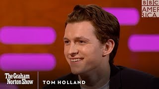 Tom Holland Felt Insecure On The Set Of Avengers - The Graham Norton Show