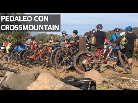 Enduro con Crossmountain en el cerro Manquehue!