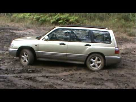 Subaru Forester GT off road 5 (видео)