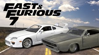Nonton Fast and Furious Twin Pack Dom's Dodge Charger & Brian's Toyota Supra from Jada Toys Film Subtitle Indonesia Streaming Movie Download
