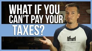 ❓ What if you cant pay your taxes?   FintTips 🤑