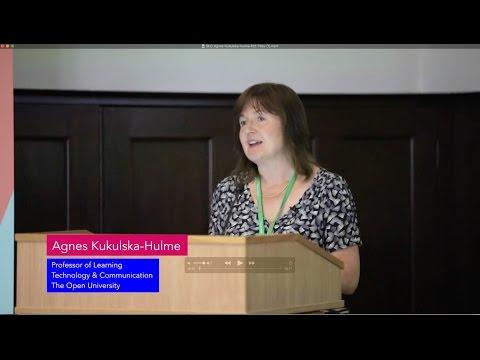 Mobile technologies and personalisation - Agnes Kukulska Hulme