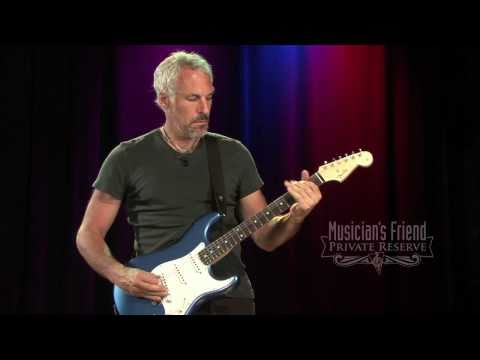 Custom (musician) - Guitarist Jeff Pevar demos the Fender Custom Vintage Pro 1960 Stratocaster, an outstanding reproduction with modern touches. Loaded with 3 versatile Fender C...