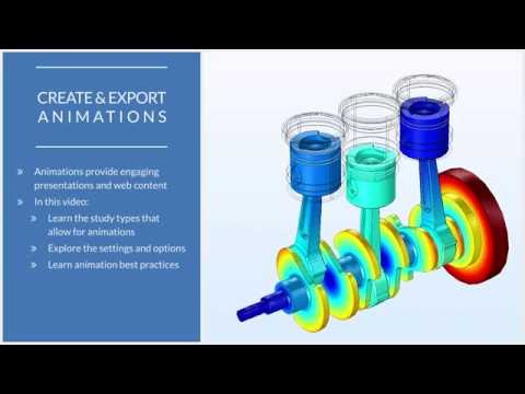 How to Export an Animation from COMSOL Multiphysics®
