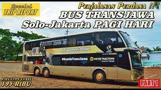 Download Video TRIP - LAUNCHING PERDANA !! BUS TRANSJAWA MEWAH KEBERANGKATAN PAGI SOLO-JAKARTA [PART 1] MP3 3GP MP4