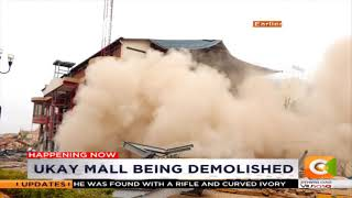Video One of the walls falling on the excavator at Ukay Mall,Westlands MP3, 3GP, MP4, WEBM, AVI, FLV Maret 2019