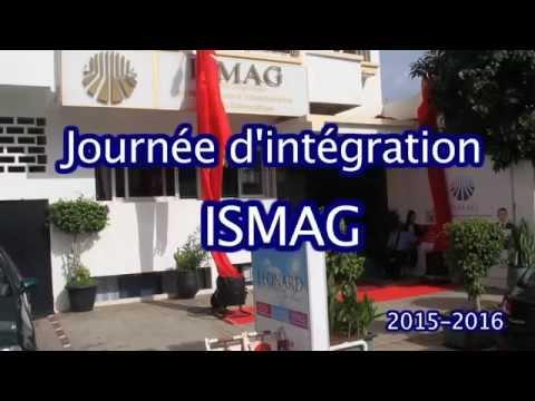 journée d'intégration ISMAG 2015/2016
