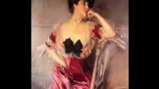 """Ritratti di Giovanni Boldini,belle ed eleganti signore,accompagnati dalla musica""""Prendimi"""" di Giovanni Allevi per pianoforte ed..."""