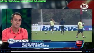 FLAMENGO ACERTA COM DIEGO ALVES E PODE ANUNCIAR AINDA HOJE