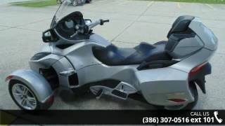4. 2010 Can-Am Spyder RT Audio & Convenience  - Jim Walkers ...
