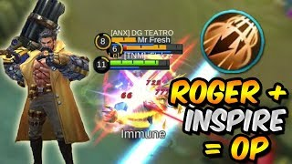 Download Video ROGER PERFECT GAMEPLAY WITH INSPIRE *OP* – MOBILE LEGENDS MP3 3GP MP4