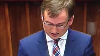 Haniebne wystąpienie PANA Zbyszka w Sejmie