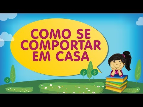 COMO SE COMPORTAR EM CASA  | Histórias com a Tia Érika