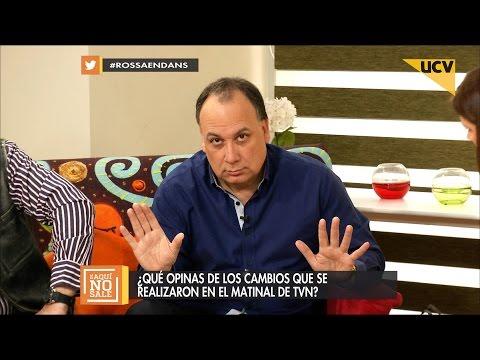 """video Jorge Aedo y el matinal de TVN: """"Cuando murió Camiroaga empezó la crisis"""""""