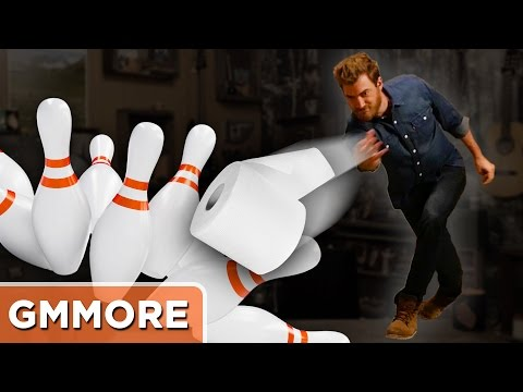 Toilet Paper Bowling Game