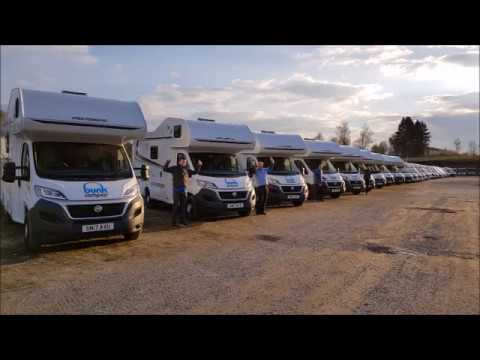 Bunk Campers Germany Motorhome Relocation Trip 2017