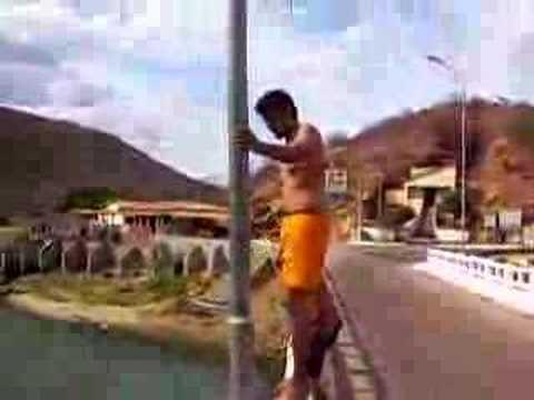 gamegol Farra na ponte da barragem em quixeramobim, jumps