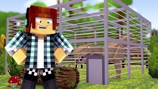 Minecraft: PRIMEIRA JAULA DE DINOSSAURO !! ( Ark Parque #04 )