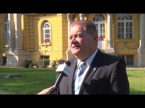 Czeglédi Gyula - Sajtótájékoztató Magyar Fürdőkultúra Napja 2014.10.10