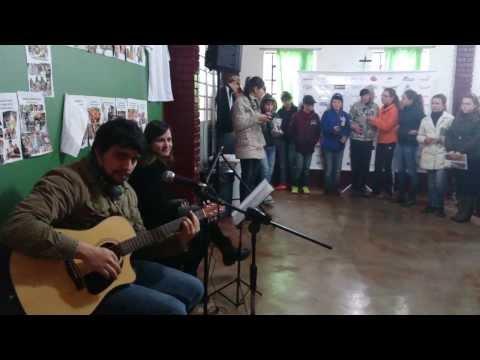 Música no Intervalo da Escola Marquês de Maricá de Vila Lângaro