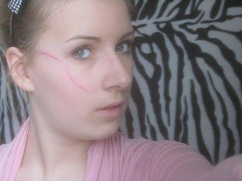 Как сделать красивый шрам