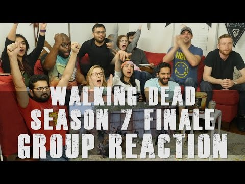 The Walking Dead - 7x16 The First Day of the Rest of your Life - Group Reaction