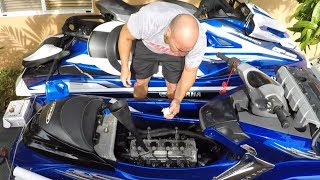 10. How to change oil and filter on yamaha pwc