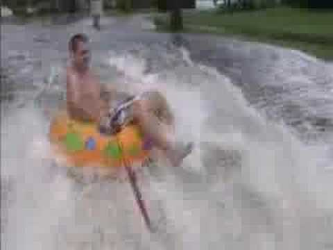 Hurricane Fay Street Tubing Crash