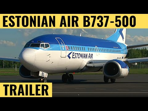 Estonian Air B737-500 - Cockpit Video - Flightdeck Action - Flights In The Cockpit