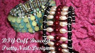 120 Easy DIY Cuff Bracelet - YouTube