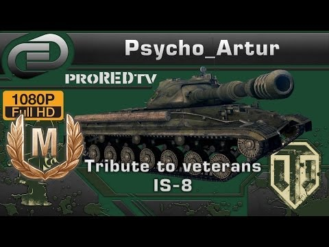 Tribute to veterans IS-8