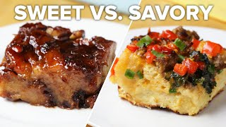 Breakfast Bake 2 Ways: Sweet Vs Savory • Tasty by Tasty