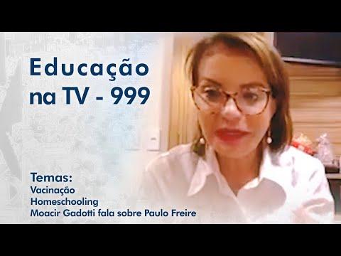 Vacinação   Homeschooling   Moacir Gadotti fala sobre Paulo Freire
