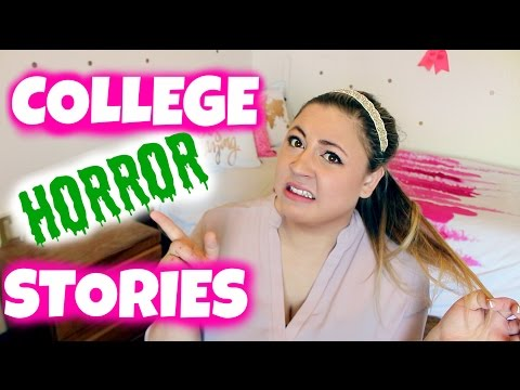 COLLEGE FRESHMAN HORROR STORIES?! #ASKristee March 2015!