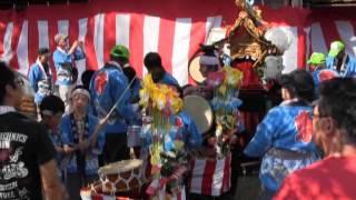 比良賀神社大祭(1)笛太鼓お披露目