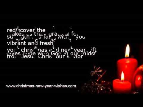 Religious christmas christian new year wishes