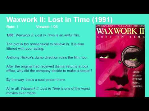 Movie Review: Waxwork II: Lost In Time (1992) [HD]