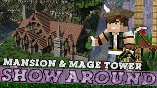 Minecraft: Medieval Mansion & Mage Tower!