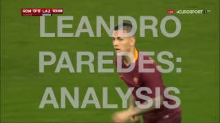 Leandro Paredes (AS ROMA): the new regista, analysis (HD)