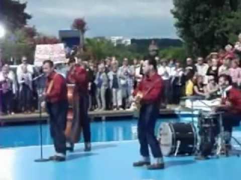 The Sunny Bottom Boys - Puttin On The Riz ( ZDF Fernsehgarten 15.07.2012)